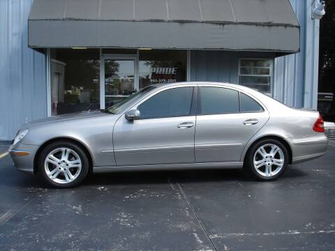 2006 Mercedes-Benz E-Class for sale at PRIDE AUTO SALES LLC in Nokomis FL