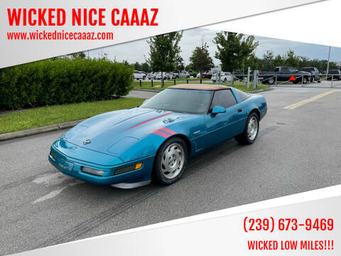 1995 Chevrolet Corvette for sale at WICKED NICE CAAAZ in Cape Coral FL