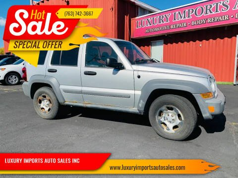 2005 Jeep Liberty for sale at LUXURY IMPORTS AUTO SALES INC in North Branch MN