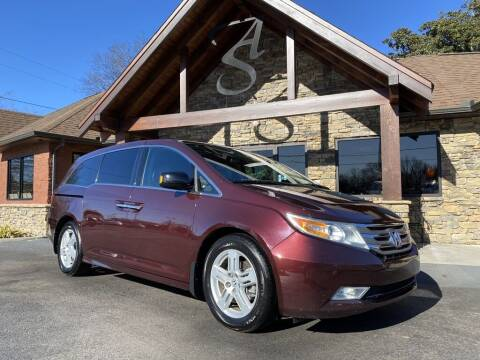 2013 Honda Odyssey for sale at Auto Solutions in Maryville TN