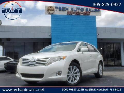 2012 Toyota Venza for sale at Tech Auto Sales in Hialeah FL