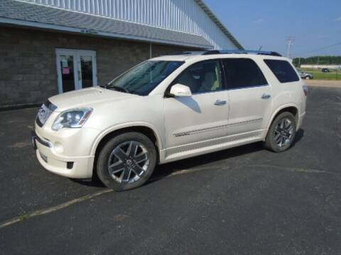 2012 GMC Acadia for sale at SWENSON MOTORS in Gaylord MN