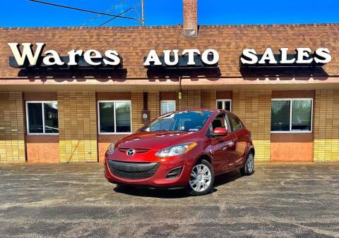 2014 Mazda MAZDA2 for sale at Wares Auto Sales INC in Traverse City MI
