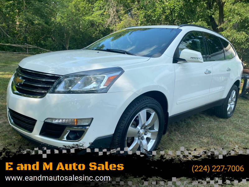 2014 Chevrolet Traverse for sale at E and M Auto Sales in Elgin IL