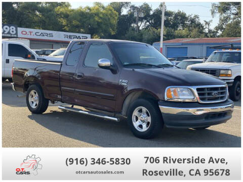 2001 Ford F-150 for sale at OT CARS AUTO SALES in Roseville CA