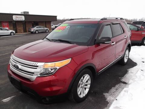 2013 Ford Explorer for sale at Dietsch Sales & Svc Inc in Edgerton OH