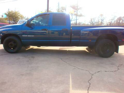 2004 Dodge Ram Pickup 3500 for sale at Under Priced Auto Sales in Houston TX