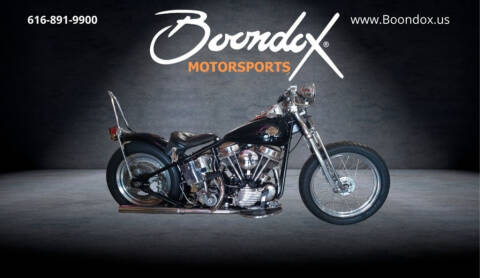 1949 Harley-Davidson Pan Head for sale at Boondox Motorsports in Caledonia MI