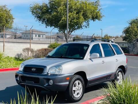 2003 Hyundai Santa Fe for sale at United Star Motors in Sacramento CA