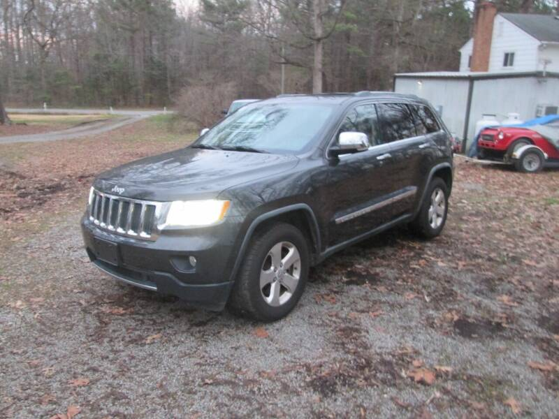 2011 Jeep Grand Cherokee for sale at Wally's Wholesale in Manakin Sabot VA