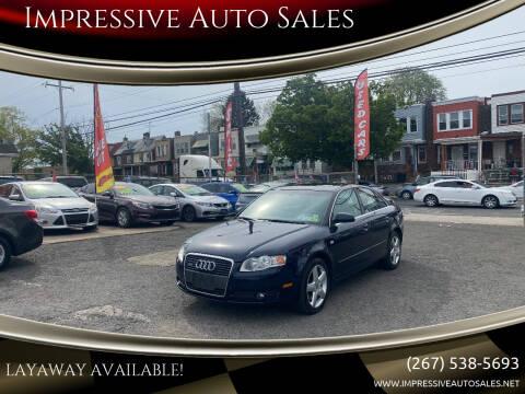 2005 Audi A4 for sale at Impressive Auto Sales in Philadelphia PA