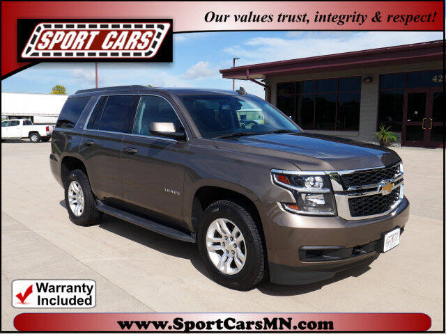 2016 Chevrolet Tahoe for sale at SPORT CARS in Norwood MN