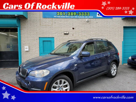 2011 BMW X5 for sale at Cars Of Rockville in Rockville MD