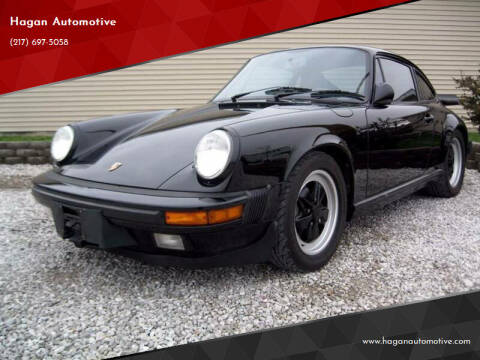 1987 Porsche 911 for sale at Hagan Automotive in Chatham IL