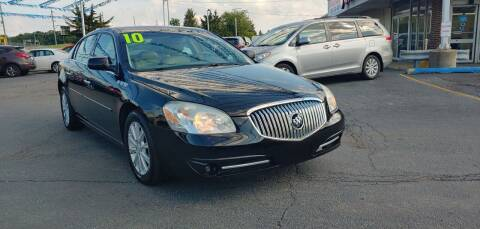 2010 Buick Lucerne for sale at I-80 Auto Sales in Hazel Crest IL
