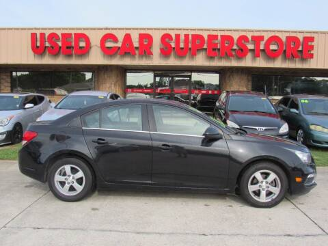 2015 Chevrolet Cruze for sale at Checkered Flag Auto Sales NORTH in Lakeland FL