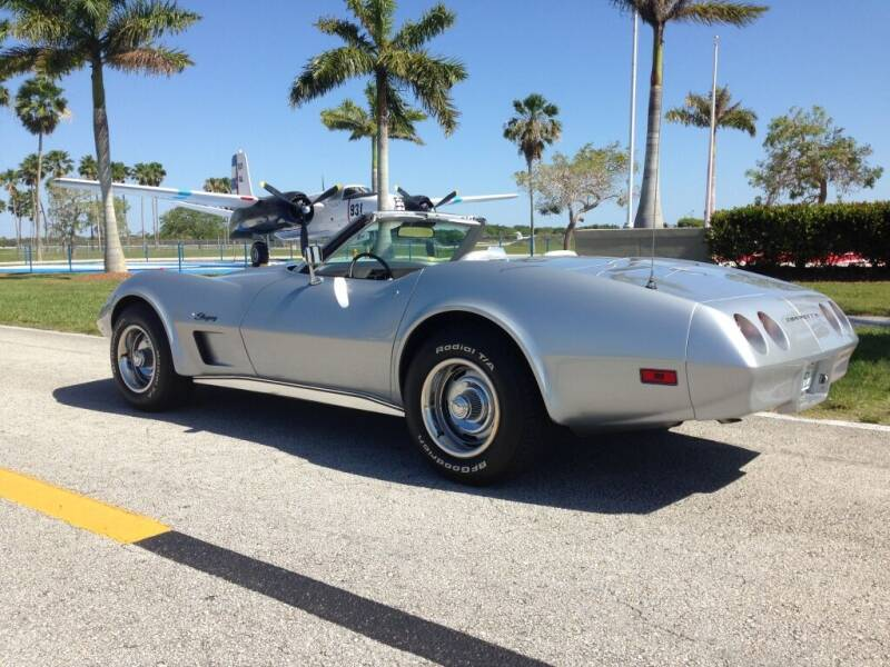 1974 Chevrolet Corvette for sale at A & A Classic Cars in Pinellas Park FL
