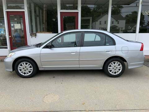 2005 Honda Civic for sale at O'Connell Motors in Framingham MA