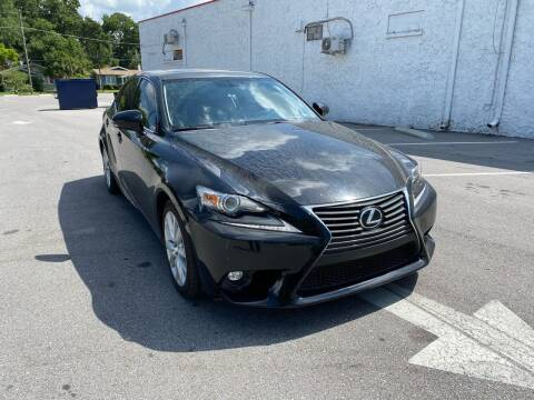 2016 Lexus IS 200t for sale at Consumer Auto Credit in Tampa FL
