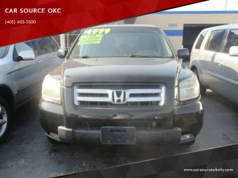 2007 Honda Pilot for sale at CAR SOURCE OKC in Oklahoma City OK