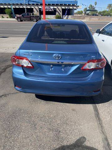 2012 Toyota Corolla for sale at ALMOST NEW AUTO RENTALS & SALES in Mesa AZ