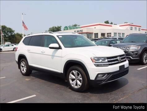 2018 Volkswagen Atlas for sale at BOB ROHRMAN FORT WAYNE TOYOTA in Fort Wayne IN