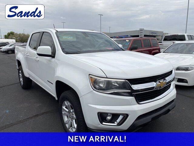 2016 Chevrolet Colorado for sale at Sands Chevrolet in Surprise AZ