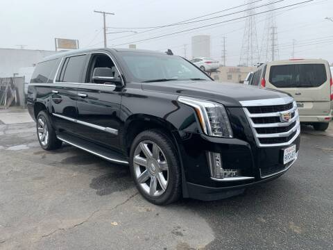 2019 Cadillac Escalade ESV for sale at Best Buy Quality Cars in Bellflower CA