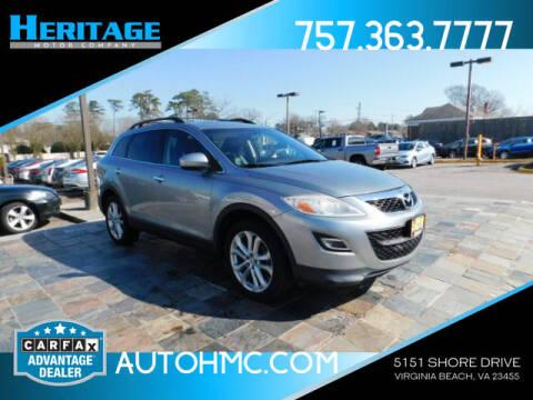 2012 Mazda CX-9 for sale at Heritage Motor Company in Virginia Beach VA