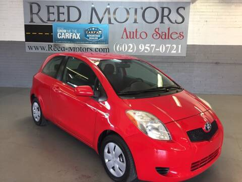 2008 Toyota Yaris for sale at REED MOTORS LLC in Phoenix AZ