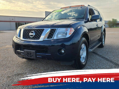 2008 Nissan Pathfinder for sale at Auto District in Baytown TX