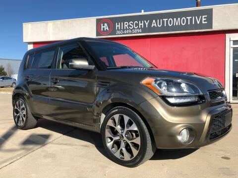2012 Kia Soul for sale at Hirschy Automotive in Fort Wayne IN