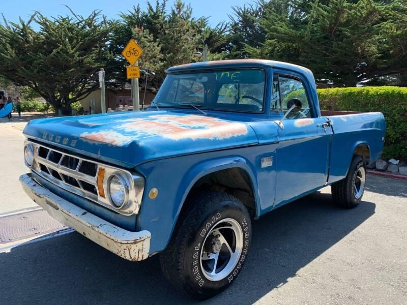 1969 Dodge D100 Pickup for sale at Dodi Auto Sales in Monterey CA