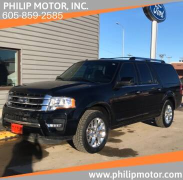 2017 Ford Expedition EL for sale at Philip Motor Inc in Philip SD