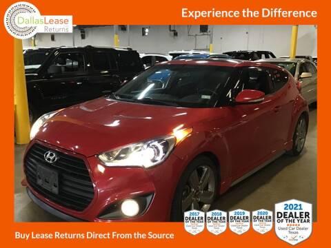 2015 Hyundai Veloster for sale at Dallas Auto Finance in Dallas TX