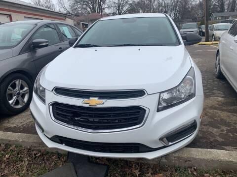 2015 Chevrolet Cruze for sale at ALVAREZ AUTO SALES in Des Moines IA