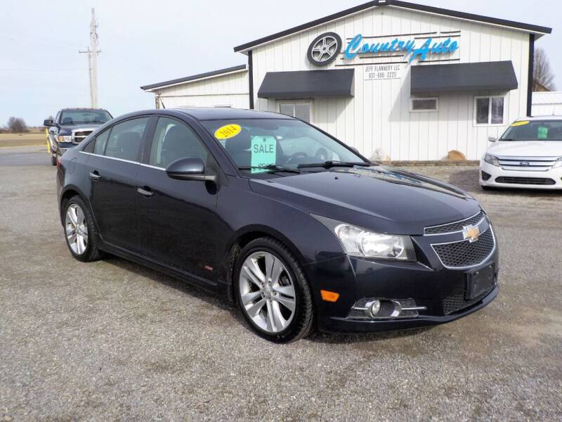 2014 Chevrolet Cruze for sale at Country Auto in Huntsville OH