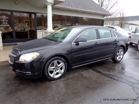 2010 Chevrolet Malibu for sale at DEALS UNLIMITED INC in Portage MI