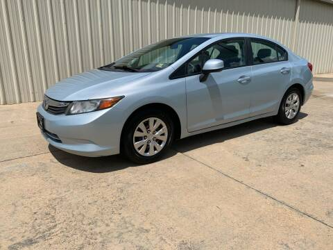 2012 Honda Civic for sale at Freeman Motor Company in Lawrenceville VA