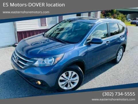 2012 Honda CR-V for sale at ES Motors-DAGSBORO location - Dover in Dover DE