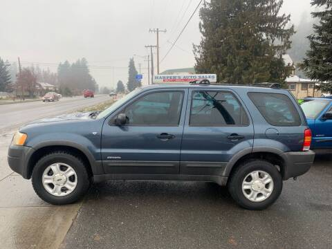 2001 Ford Escape for sale at Harpers Auto Sales in Kettle Falls WA