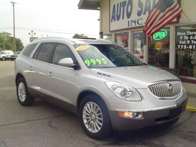 2011 Buick Enclave for sale at G & L Auto Sales Inc in Roseville MI
