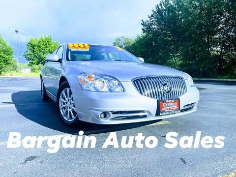 2011 Buick Lucerne for sale at Bargain Auto Sales LLC in Garden City ID