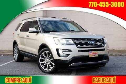 2017 Ford Explorer for sale at El Compadre Trucks in Doraville GA