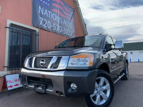 2010 Nissan Titan for sale at Nations Auto Inc. II in Denver CO