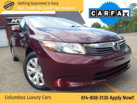 2012 Honda Civic for sale at Columbus Luxury Cars in Columbus OH