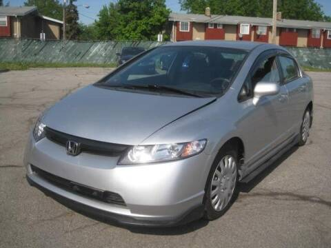 2008 Honda Civic for sale at ELITE AUTOMOTIVE in Euclid OH