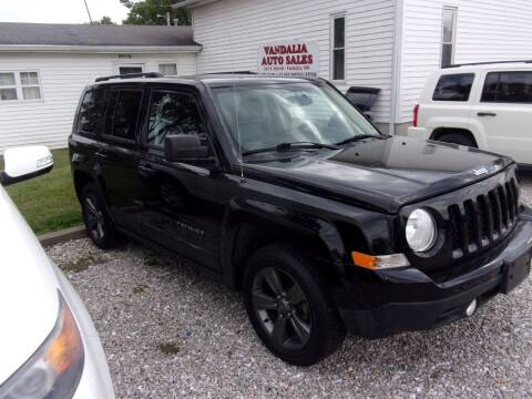 2015 Jeep Patriot for sale at VANDALIA AUTO SALES in Vandalia MO