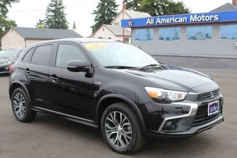 2016 Mitsubishi Outlander Sport for sale at All American Motors in Tacoma WA