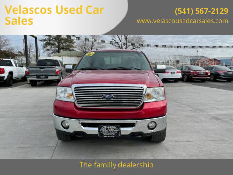 2008 Ford F-150 for sale at Velascos Used Car Sales in Hermiston OR